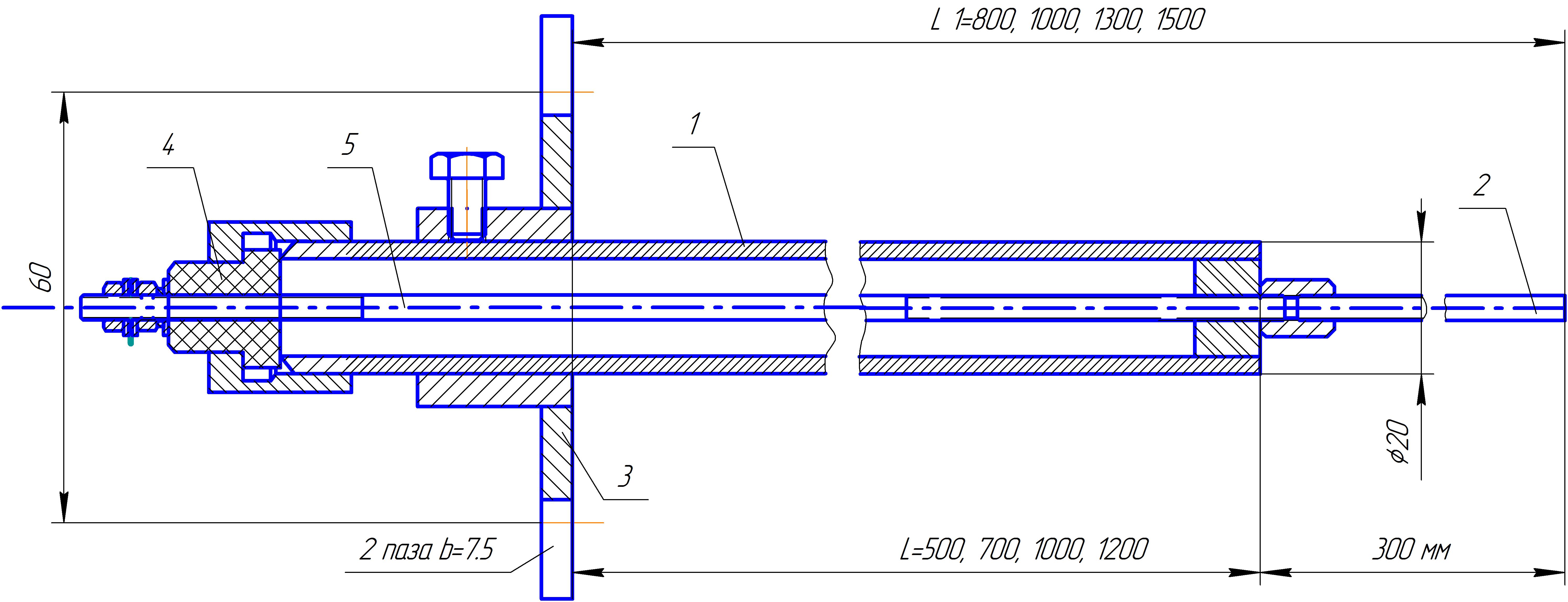 Принцип работы контрольного электрода 1844
