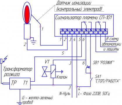 Схема управления розжигом-1