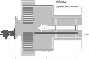 схема установки запальник